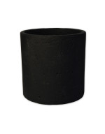 Zakkia Concrete Pot Black resized