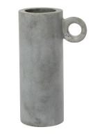 Zakkia Grey Loop Vase resize