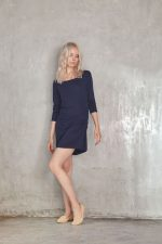 Carolina Dress Navy