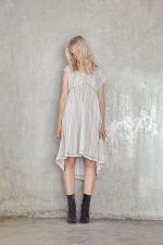 Marigold Dress Ziggy Grey