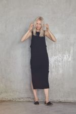Solana Maxi Dress Black3