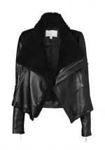 L33-1-MCCARTNEY LEATHER JACKET-BLACK