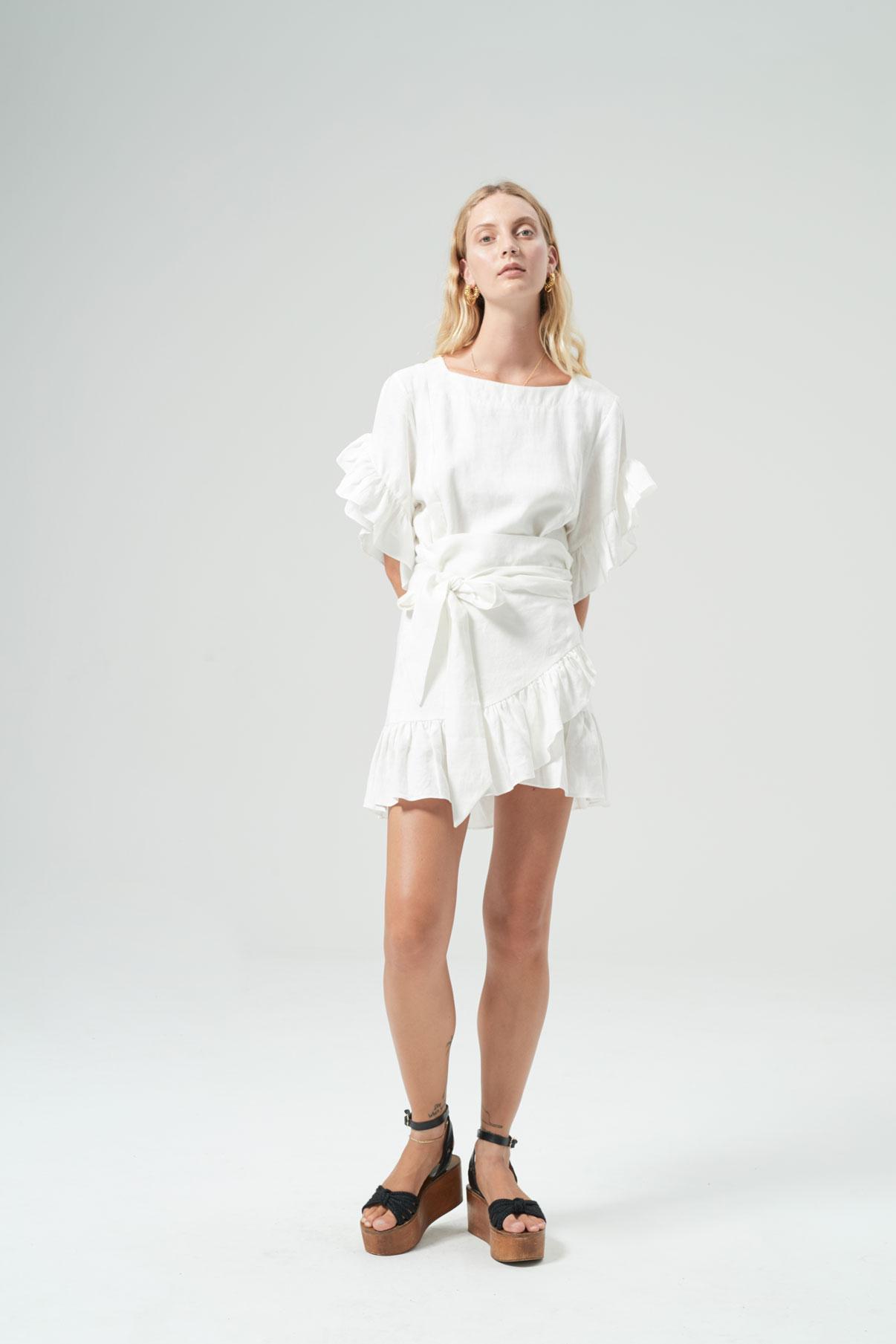 New-HANSEN-amp-GRETEL-Ellen-Dress-White