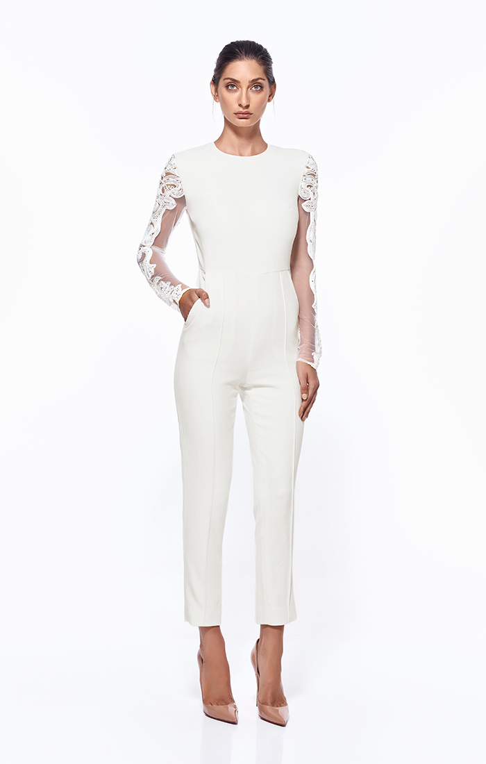 New-MISHA-COLLECTION-Geena-Lace-Pantsuit-Ivory