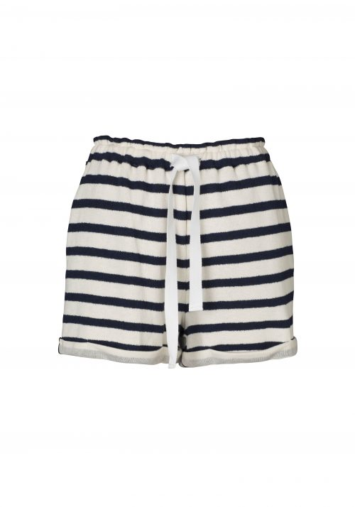 V550-2-ADVENT SHORT-NAVY & IVORY STRIPE