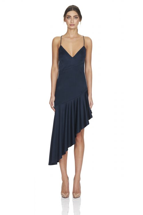 Madelyn Dress Navy Front