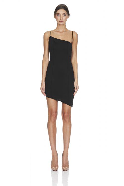Mallory Dress Black Front