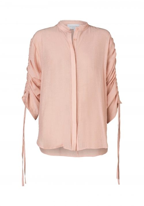 WV538-3-RADIANCE DRAWSTRING SHIRT-LOTUS