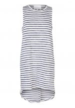 EPISODE TANK DRESS-MARLED BLUE & WHITE STRIPE