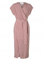 JERICHO WRAP DRESS-HOPE STRIPE