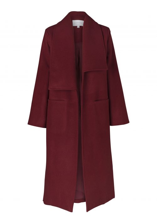 PORTOFINO COAT-GRENADINE