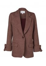 TENNESSEE BLAZER-BORDEAUX TWEED