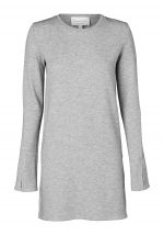 YESTERDAY TUNIC-GREY MARL