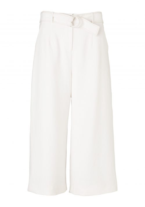 CLYDE CROP PANT-IVORY